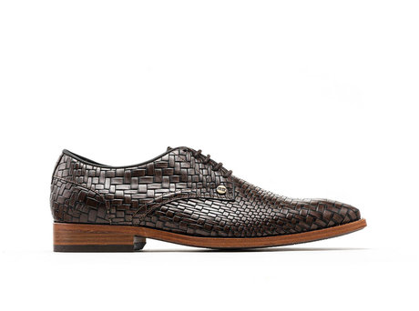 Rehab Braune Business Schuhe Brad Brick
