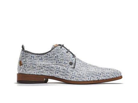 Rehab Graue Business Schuhe Greg Weave