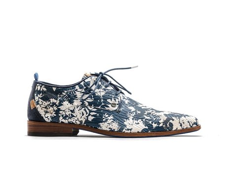 Rehab Blue Business Shoes Greg Tree 121