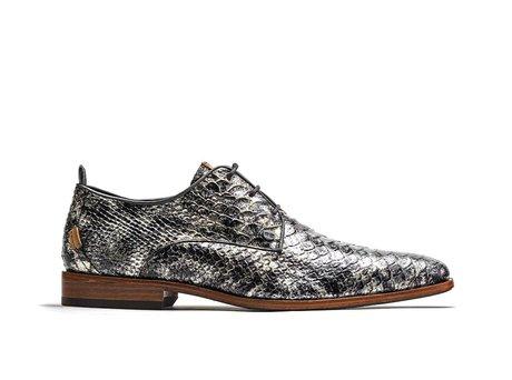 Graue Business Schuhe Greg Snake Met 121