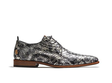 Grey Business Shoes Greg Snake Met 121