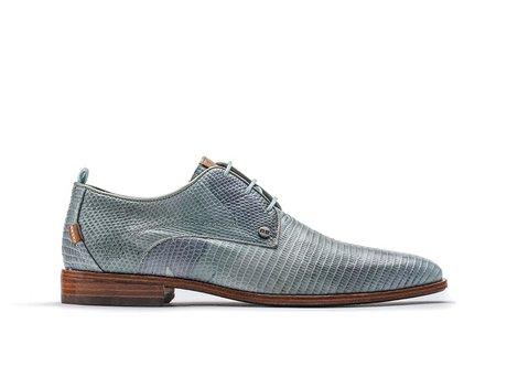 Rehab Blaue  Bussines Schuhe Greg Liz Army