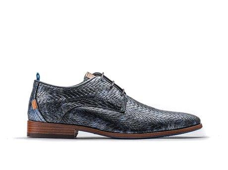 Grey Business Shoes Greg Leaf