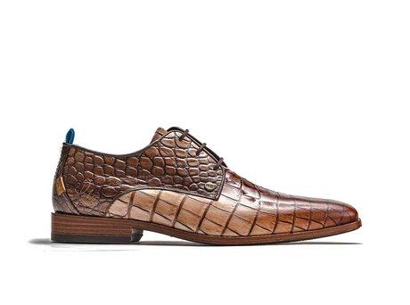 Braune Business Schuhe Greg Gradient Crc