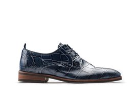 Falco Crc Shiny   Donkerblauwe nette schoenen