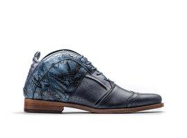 Kurt II Leaf   Blue Business Shoes