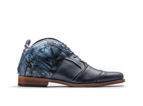 Rehab Blaue Business Schuhe Kurt Ii Leaf