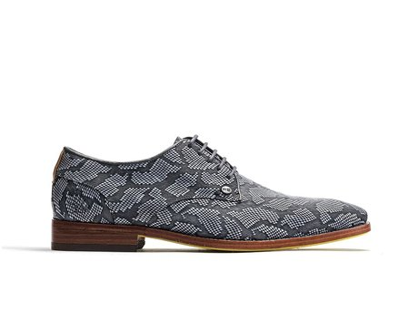 Graue Business Schuhe Brad Cloud