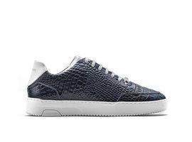 Rehab Zwarte Sneakers Tygo Croco 121