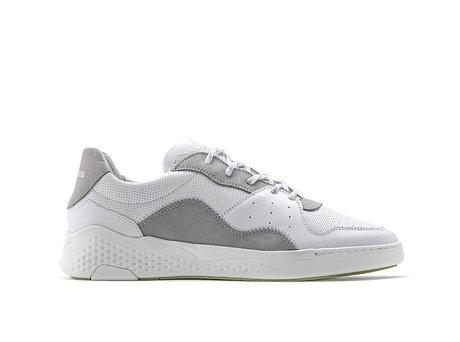 Lichtgrijze Witte Sneakers Rico Lthr Nub