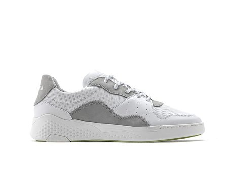 Rehab Licht Grijze Witte Sneakers Rico Lthr Nub