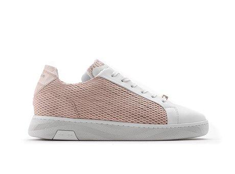 Ziya Prf | Wit-roze sneakers
