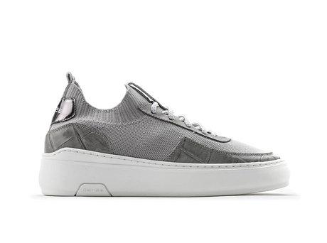 Tess Knit Crc | Lichtgrijze sneakers