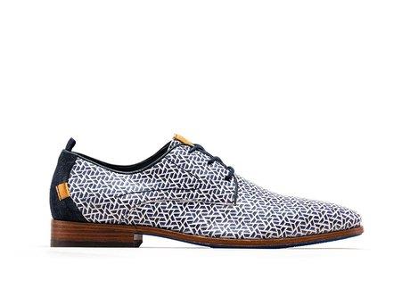 Rehab Blue Business Shoes Greg Pyramid