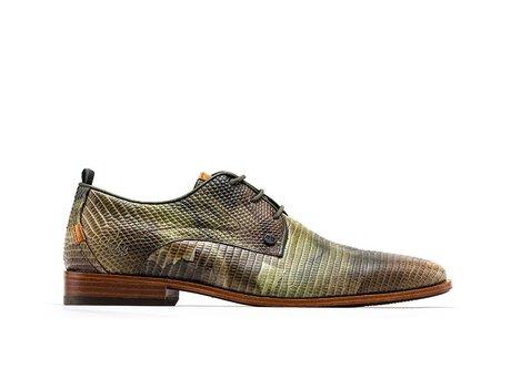 Rehab Green Business Shoes Greg Liz Army