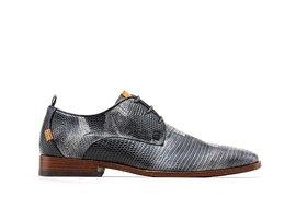 Rehab Black Business Shoes Greg Liz Army