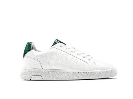 Ziya Snk | Wit-groene sneakers