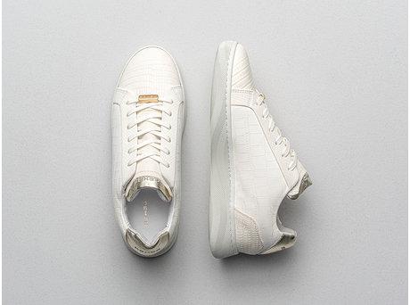 Ziya Crc | Gebroken-witte sneakers