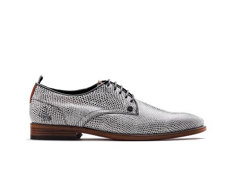 Graue Business Schuhe Brad Lizard 121
