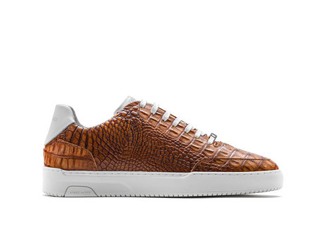 Rehab Bruine Sneakers Tygo Croco 121