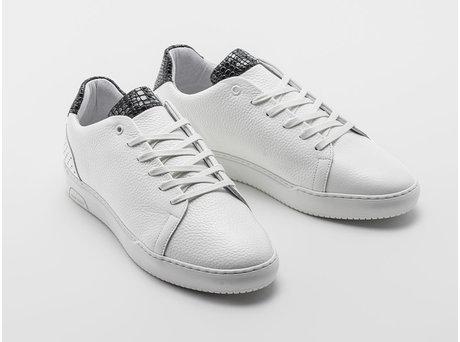 Rehab Black White Sneakers Teagan Bas Smit Snake