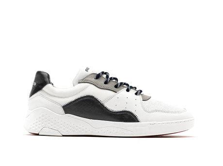 Rehab Zwart Witte Sneakers Rico Basic