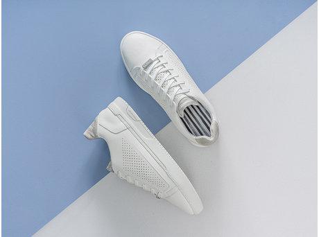 Rehab Grijze Witte Sneakers Tiago Prf