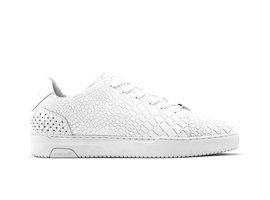Rehab White Sneakers Teagan Croco