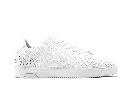 Rehab White Sneakers Teagan Croco
