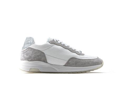 Grau Weiße Sneakers Horos