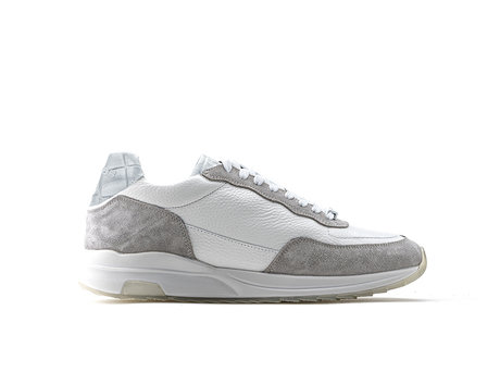 Horos | Grijs Witte Sneakers