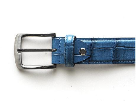 Belt Gradient Croco Indigo