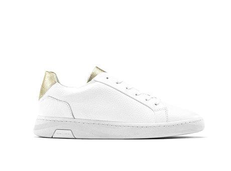 Ziya Liz | Wit-gouden sneakers
