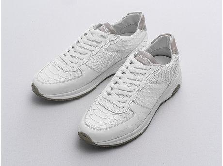 Rehab White Sneakers Hunter Snake Vnt