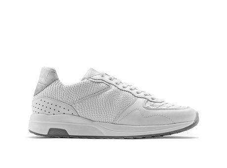 White Sneakers Hunter Snake Vnt