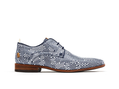 Blue White Business Shoes Greg Labyrinth