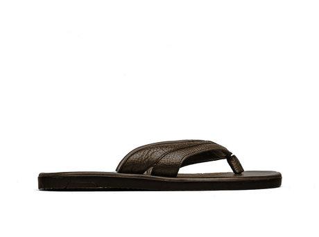 Raoul Ii Tmb | Donkerbruine slippers