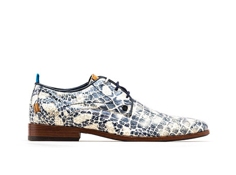 Blue Business Shoes Greg Crc Duo 121