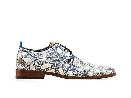 Greg Crc Duo | Blauwe nette schoenen