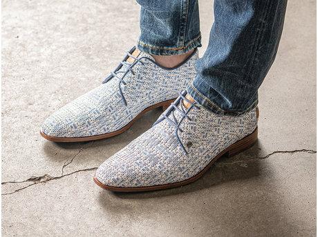 Rehab Blaue Business Schuhe Greg Weave