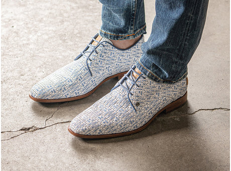 Rehab Blue Business Shoes Greg Weave