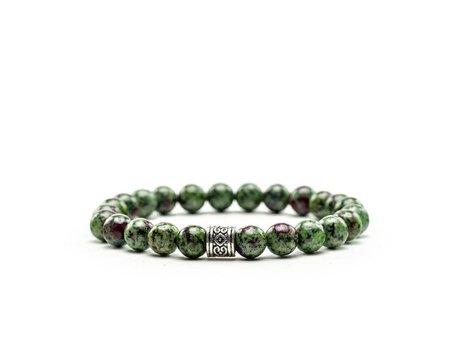 Bracelet Ruby Zoisite Multi