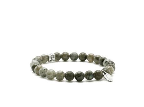 Bracelet  Labradorite Olive