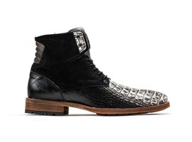 Alesandro Crc | Donkergrijze boots