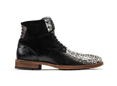 Alesandro Crc | Hoge donkergrijze boots