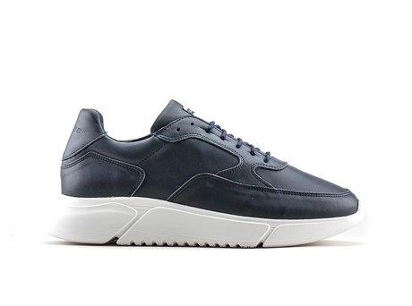 Hedley | Donkerblauwe sneakers