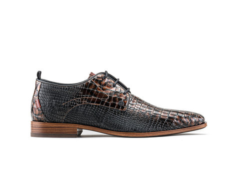 Greg Crc Vnz | Dark brown business shoes