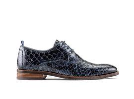 Falco Snk Vnz | Blue business shoes