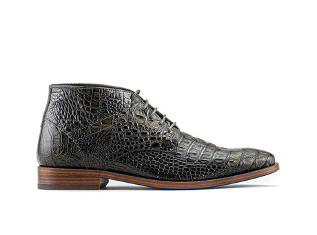 Barry Crc | Dark green business shoes