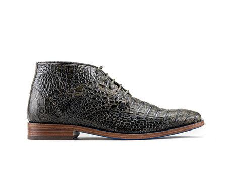 Barry Crc | Donkergroene nette schoenen